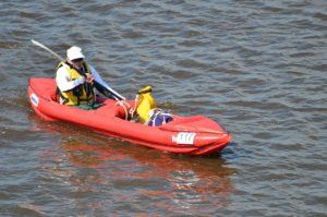 kayak gonflable débutant