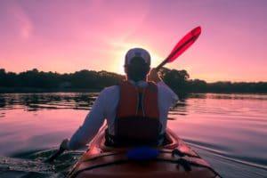 Moi en kayak