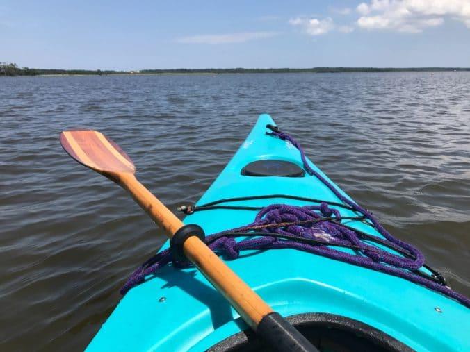 Choisir pagaie kayak